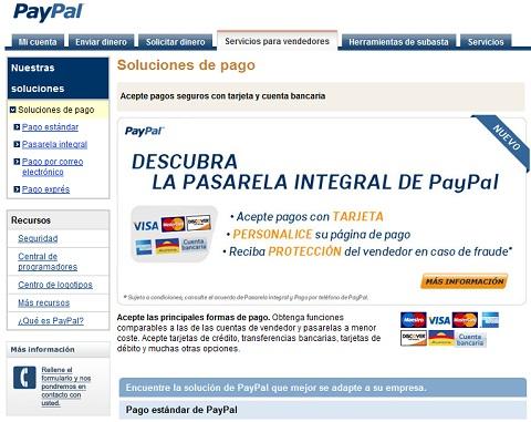 Configurar PayPal para Comercio Electrónico